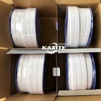 Roztiahnutá tesniaca páska PTFE s tesniacou lepiacou páskou