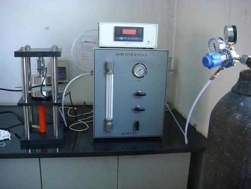 Stroj na testovanie vzdušnej pevnosti